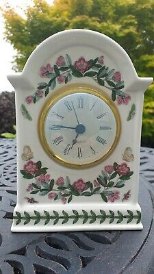 Portmeirion Botanic Garden Mantle Clock • 15£