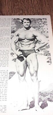 Muscle Magazine, Gay Interest, Beef Cake 1980s Arnold Schwarzenegger Special  • 2.99£