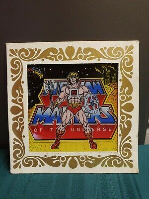 $45 • Buy RARE He-Man MOTU 6 X 6 Carnival State Fair Glass Picture Masters Of The Universe