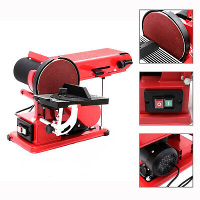 Powerful 375W Bench Belt Sander Sanding Tools Hand Held Carpentry Sand Machine • 105.95£