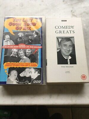 Spike Milligan And The Last Goon Show Two Video Cassettes • 1.99£