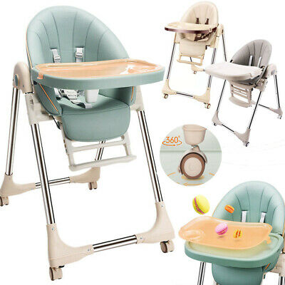 Adjustable 3-In-1 Baby Highchair Infant High Feeding Seat Toddler Table Chair UK • 39.58£