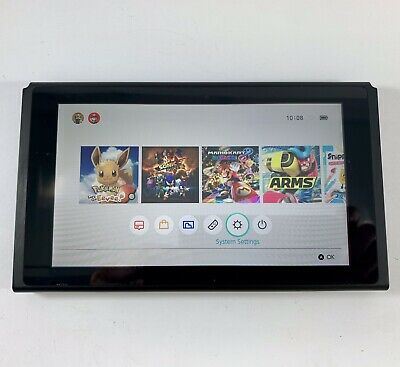 AU409.95 • Buy Nintendo SWITCH CONSOLE ONLY - LOW SERIAL NUMBER Unpatched - Excellent Condition