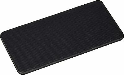 """£2.99 • Buy Gaming Mouse Wrist Rest Pad - Black - Stitched Edges - 8"""" X 4  X 0.5"""""""