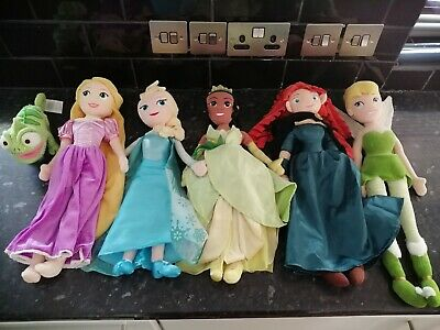 Disney Store Princess Soft Dolls • 14.50£