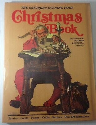 $ CDN23.33 • Buy The Saturday Evening Post CHRISTMAS BOOK Norman Rockwell HARDCOVER 1978