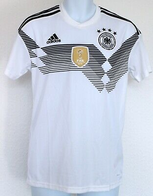 Adidas Germany Men's Home 2018 Football Shirt, Mens Football Shirt Size Small • 4.99£