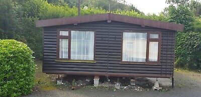 Twin Unit Mobile Home. Log Cabin. Park Home - Not Sited - NO REERVE • 1,816£