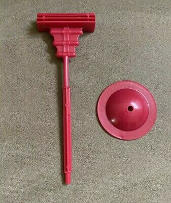 $15 • Buy MOTU Masters Of The Universe He-Man 1982 Zoar Screech Red Stand And Perch Pole