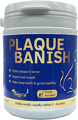 Plaque Banish 100% Natural Plaque Off & Tartar Remover For Dogs & Cats | Freshen • 9.93£