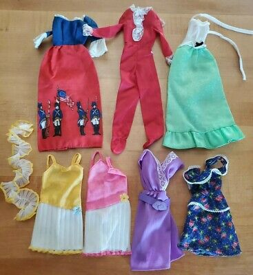 $ CDN32 • Buy Vintage Barbie Doll 1970s Lot Of Best Buy Dresses & Outfits