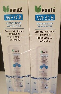 $ CDN30.37 • Buy New (Sealed) SANTE Frigidaire WF3CB Puresource 3 Replacement Water Filter. 2 Pk