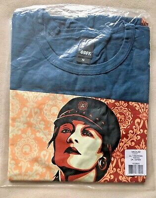 £63.71 • Buy New Vintage OBEY Clothing These Parties Disgust Me Shirt 2010 Medium M Vote Art