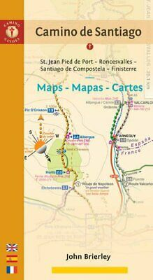 £12 • Buy Camino De Santiago Maps - Sixth Edition: St. Jean Pied De Po... By John Brierley