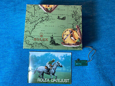 $ CDN243.61 • Buy Rolex Box And Booklet For 1986 Datejust