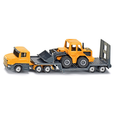 £8.50 • Buy 1616 Low Loader Truck With Front Loader Vehicles