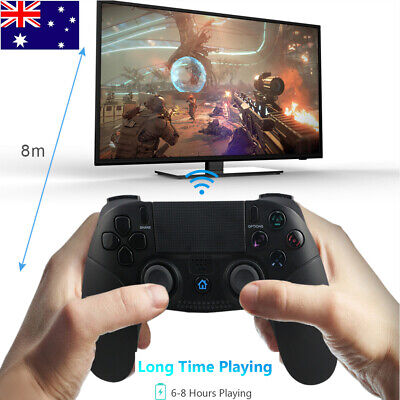 AU41.99 • Buy Wireless Controller Bluetooth Gamepad Joystick Dualshock For PS4 PS3 PC Game AU