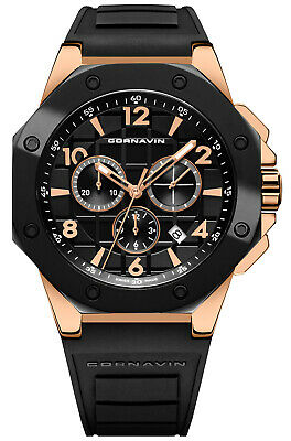 Watch Man Downtown Sport CO2012-2015R Rubber Black - • 769.16£