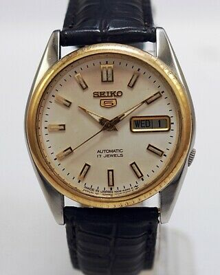 $ CDN38.96 • Buy Seiko 5 Automatic Cal.7009 Men's Japan Refurbished Used Old Vintage Watch 102008
