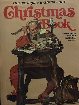 $ CDN23.93 • Buy 1976 The Saturday Evening Post Christmas Book Norman Rockwell