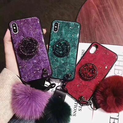 AU11.90 • Buy For IPhone 11 Pro XS Max XR 8 7 6S Plus Case Shockproof Grip Holder Marble Cover