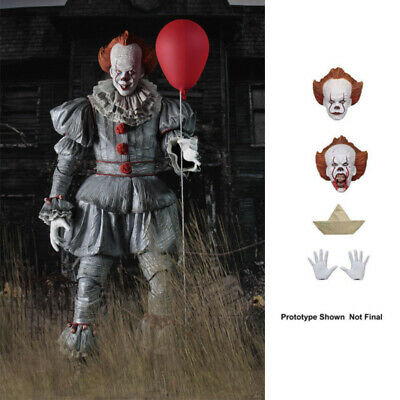 ^ NECA Stephen King's It The Clown Pennywise PVC Horror Action Figure Model Toys • 16.84£