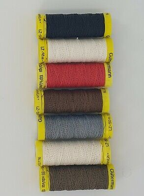 £2.98 • Buy Gutermann Strong Linen Thread Sewing  Mending Leather Upholstery 50m Reel