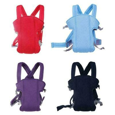 Adjustable Infant Baby Carrier Wrap Sling Hip Seat Newborn Backpack Breathable B • 6.99£