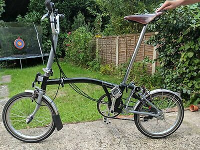 View Details Brompton Bike M6L - 6 Speed + Brooks B17 Special - *FAST SECURE GLOBAL SHIPPING* • 1,040.00£