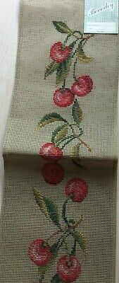Beverley Trammed Tapestry - Needlepoint Sewing Kit  Cherries Bell-pull    • 75£