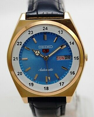 $ CDN36.32 • Buy Seiko 5 Automatic Men's Japan Movement Refurbished Used Old Vintage Watch 462108