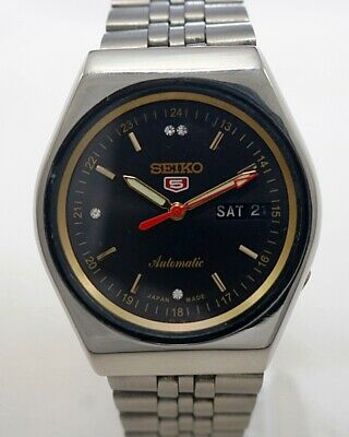 $ CDN37.64 • Buy Seiko 5 Automatic Cal.6309 Men's Japan Refurbished Used Old Vintage Watch 532101