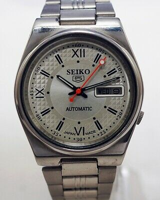 $ CDN37.64 • Buy Seiko 5 Automatic Cal.7009 Men's Japan Refurbished Used Old Vintage Watch 532104