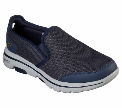 Skechers Go Walk Men's 5 Delco Slippers Slip On Men Blue • 48.36£