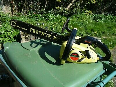 Vintage 16  Partner Petrol Chainsaw, Made In USA, Barn Find • 50£