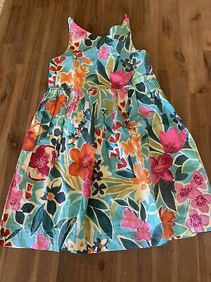 AU15 • Buy Girls Zara Floral Dress Sz 8