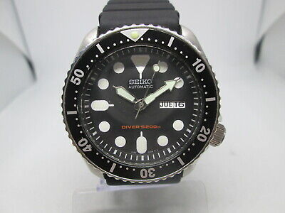 $ CDN110.67 • Buy Seiko 7s26-0020 Skx007 Daydate Stainless Steel Automatic Mens Diver Watch