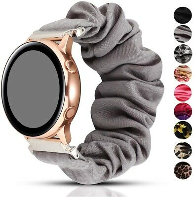 AU12.99 • Buy Scrunchie Loop Band Strap For Samsung Galaxy Watch 42mm / Active 2 40 44mm 41mm