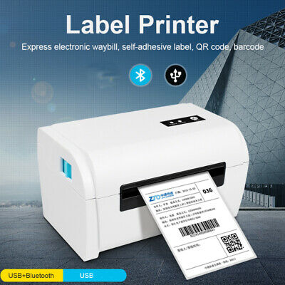 USB Bluetooth Thermal Label Printer 4x6 Compatible With Amazon Ebay Etsy Shopify • 76.89£