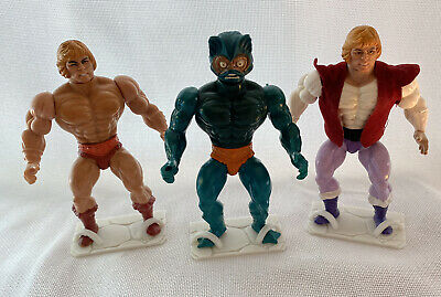 $9.95 • Buy MOTU Masters Of The Universe Figure Stands Lot Of 5 Glow In The Dark