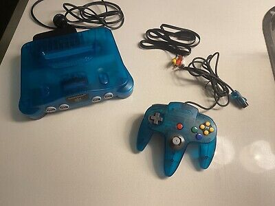 AU349.95 • Buy Nintendo 64 Console And Controller Clear Blue