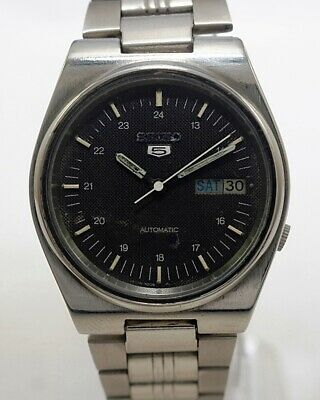$ CDN37.64 • Buy Seiko 5 Automatic Cal.7009 Men's Japan Refurbished Used Old Vintage Watch 542201