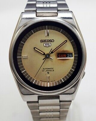 $ CDN37.64 • Buy Seiko 5 Automatic Cal.6319 Men's Japan Refurbished Used Old Vintage Watch 542204