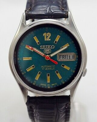 $ CDN35 • Buy Seiko 5 Automatic Cal.7009 Men's Japan Refurbished Used Old Vintage Watch 542203