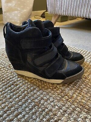 Ash Wedge Trainers - Black - Size 6 • 6.10£