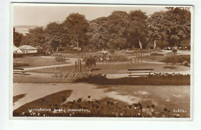 Levengrove Park Dumbarton 1934 Real Photograph Used 4 May 1956 Clark Astley Road • 1.95£