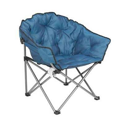 $79.99 • Buy Mac Sports Folding Portable Padded Club Camping Chair With Bag, Blue (Open Box)