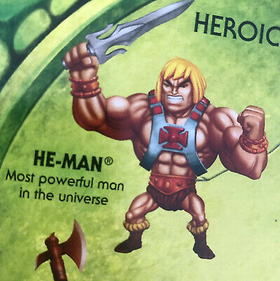 $8 • Buy He-Man Masters Of The Universe Eternia Minis HE-MAN New Sealed (code A)