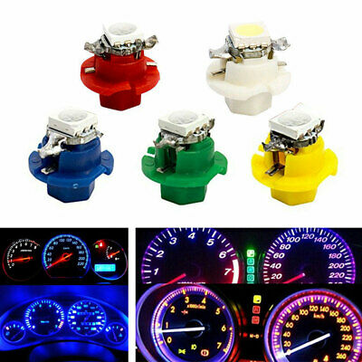 $9.39 • Buy 50x T5 B8.4D 5050 Car Indicator Gauge Cluster Dashboard Lights Car Accessories