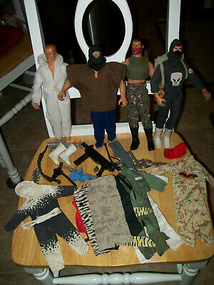 $ CDN26.36 • Buy Lot 1992 Hasbro 12  Gi Joe Action Figures And ,outfits And Accessories
